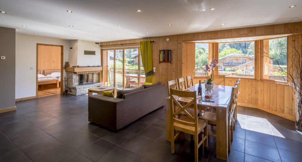 chalet rose appartement1