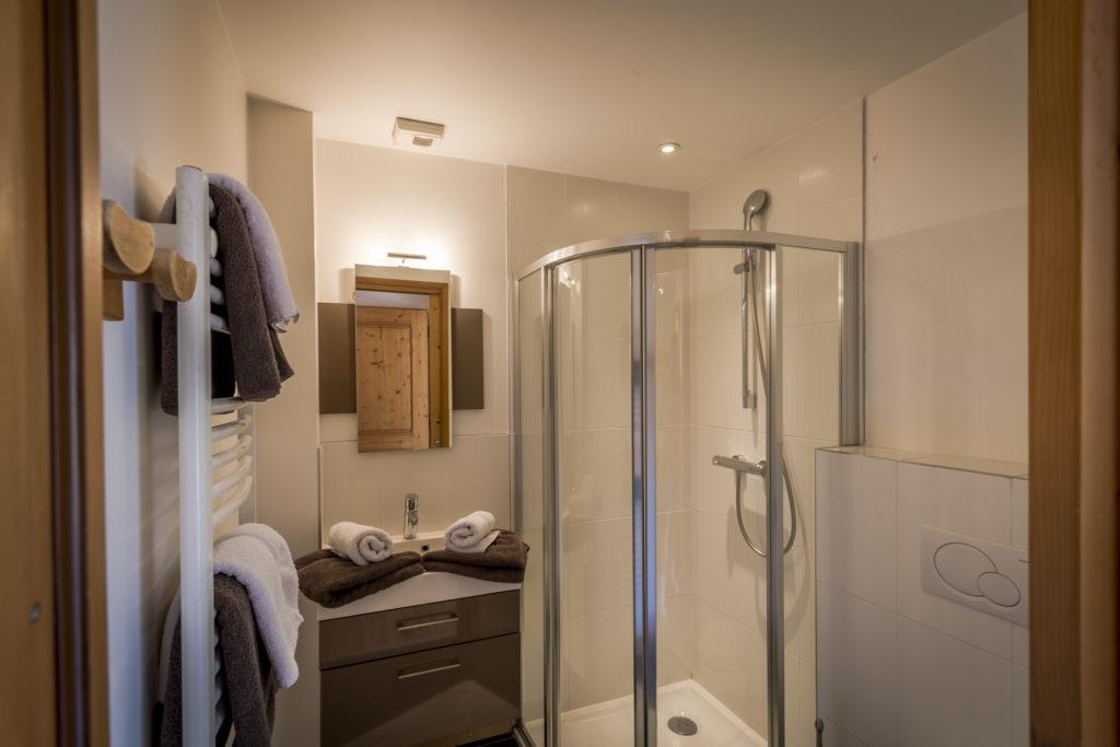 chalet rose appartement 1 salle de bains