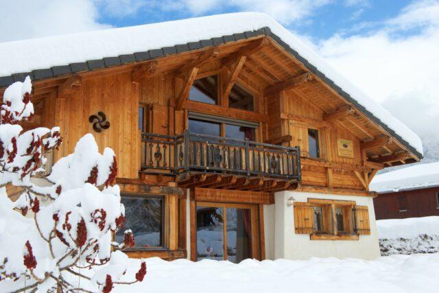 Chalet Arnica en hiver
